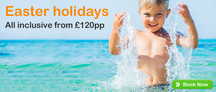 All Inclusive Easter Holidays from £120pp