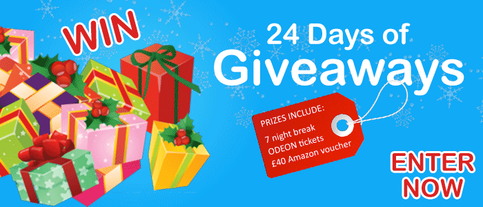 24 Days of Giveaways!