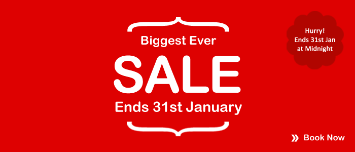 Biggest ever SALE Countdown