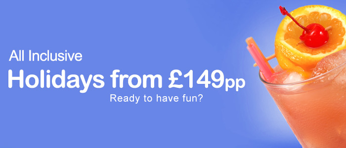 Holidays from £149pp